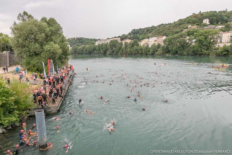 The Banks of the river Rhône – Open Swim Stars