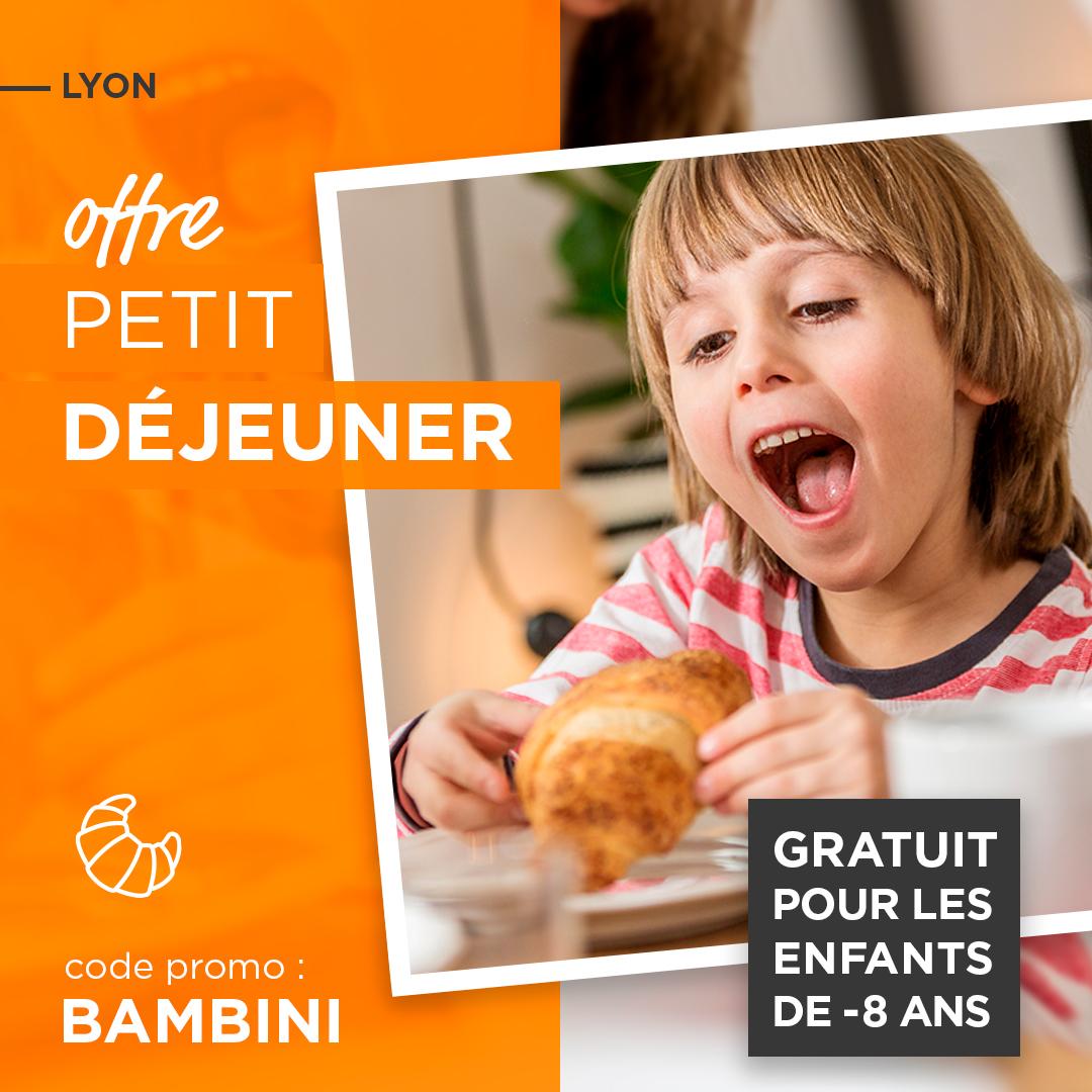 OFFRE «PETIT DEJEUNER GRATUIT POUR LES ENFANTS»